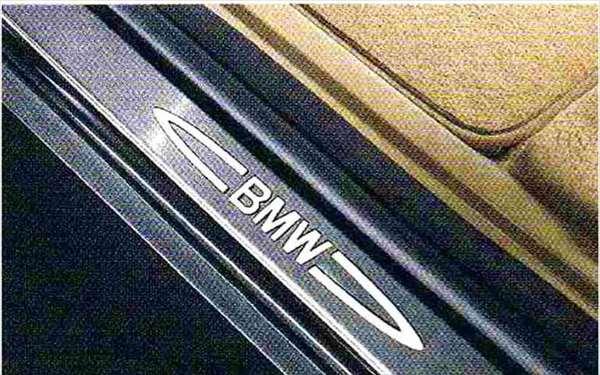X6 パーツ イルミネーテッド・エントランス・カバー・セット BMW純正部品 FG35 FG44 FH44 オプション アクセサリー 用品 純正 カバー 送料無料