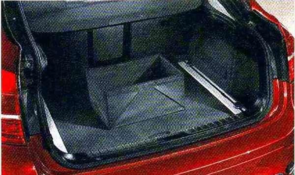 X6 パーツ ラゲージ・コンパートメント・ボックス サイズ:44×23×22(cm) BMW純正部品 FG35 FG44 FH44 オプション アクセサリー 用品 純正