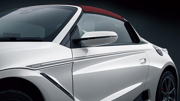 『S660』 純正 JW5 デカール(ボディーサイド) パーツ ホンダ純正部品 ステッカー シール ワンポイント オプション アクセサリー 用品