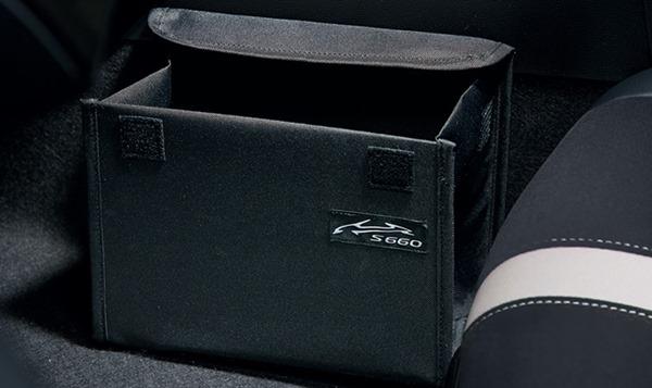 S660 純正 JW5 コンソールサイドボックス 車名ロゴ付 用品 オプション パーツ ホンダ純正部品 大注目 アクセサリー 優先配送