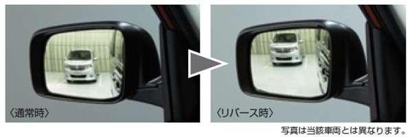 『リーフ』 純正 AZE0 リバース連動下向きドアミラー(助手席側) ※ミラー本体ではありません パーツ 日産純正部品 leaf オプション アクセサリー 用品