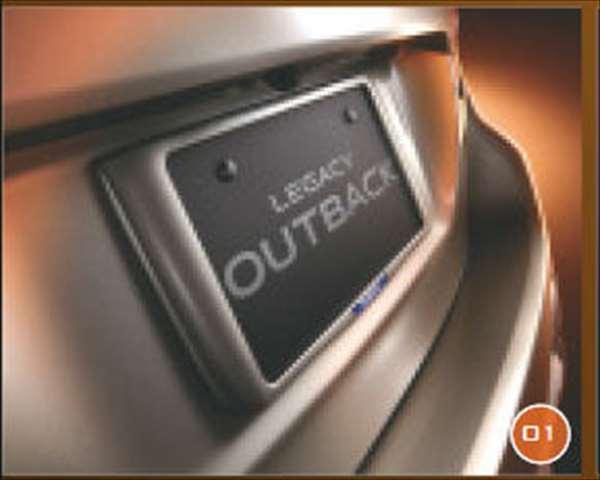 『レガシィ』 純正 BN9 カラーナンバープレートベースセット(アウトバック) 前後2枚セット ※リヤ封印注意 パーツ スバル純正部品 ナンバーフレーム ナンバーリム ナンバープレートリム legacy オプション アクセサリー 用品