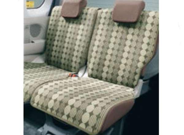 『シフォン』 純正 LA600F LA610F シートエプロン(後席用) パーツ スバル純正部品 汚れから保護 セミシートカバー オプション アクセサリー 用品