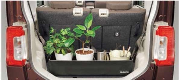 『シフォン』 純正 LA600F LA610F ラゲッジボックス パーツ スバル純正部品 オプション アクセサリー 用品