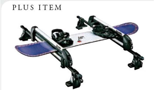 『シフォン』 純正 LA600F LA610F スキー・スノーボードアタッチメント パーツ スバル純正部品 キャリア別売りキャリア別売り オプション アクセサリー 用品
