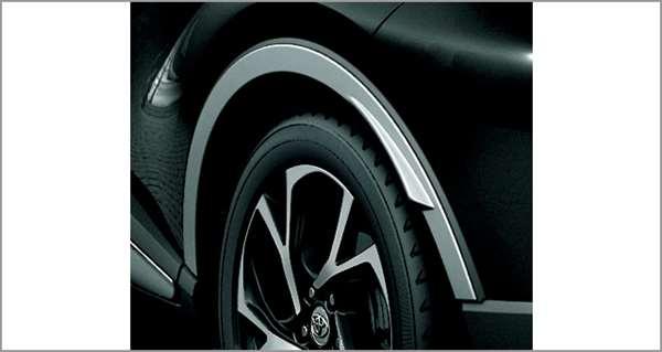 『C-HR』 純正 ZYX10 NGX50 フェンダーアーチモール(シルバー) パーツ トヨタ純正部品 フェンダーモール タイヤモール オプション アクセサリー 用品