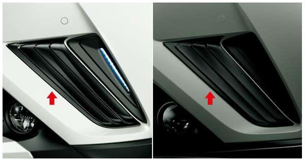 C-HR 純正 ※アウトレット品 ZYX10 NGX50 フロントコーナーガーニッシュ ブラック 割引も実施中 用品 オプション パーツ アクセサリー トヨタ純正部品
