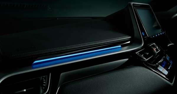 『C-HR』 純正 ZYX10 NGX50 インパネアクセントイルミネーション パーツ トヨタ純正部品 オプション アクセサリー 用品