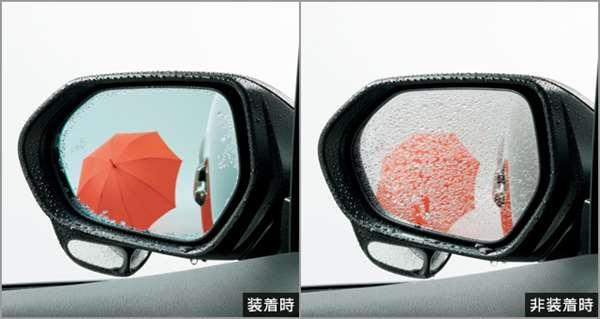 『C-HR』 純正 ZYX10 NGX50 レインクリアリングブルーミラー パーツ トヨタ純正部品 オプション アクセサリー 用品