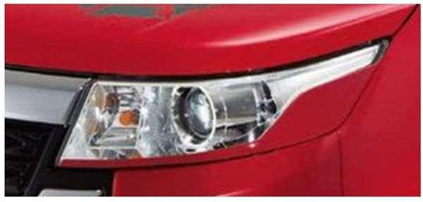 『スペーシア カスタムZ』 純正 MK42S ヘッドランプガーニッシュ パーツ スズキ純正部品 オプション アクセサリー 用品
