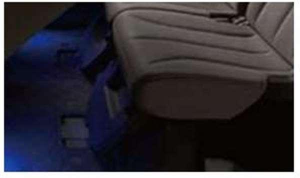 『スペーシア』 純正 MK42S フロアイルミネーション フロント&リヤセット パーツ スズキ純正部品 足元照明 フットランプ フットライト オプション アクセサリー 用品