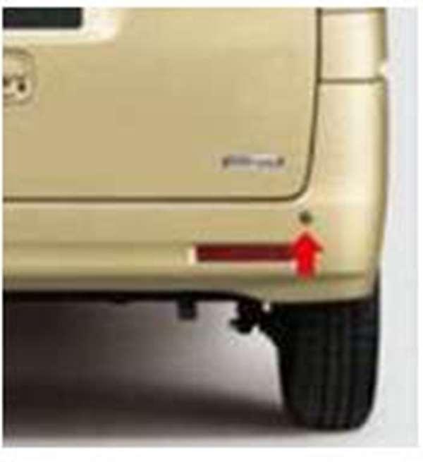 『スペーシア』 純正 MK42S リヤコーナーセンサーセット(左右2センサー) パーツ スズキ純正部品 危険通知 接触防止 障害物 オプション アクセサリー 用品