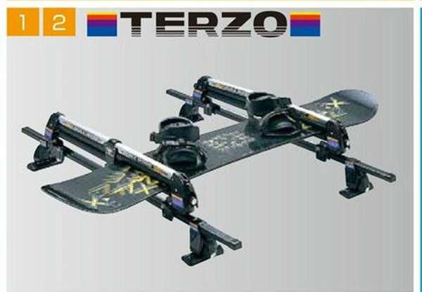 『デリカD:2』 純正 MB15S スキー&スノーボードアタッチメント(TERZO) パーツ 三菱純正部品 キャリア別売りキャリア別売り DELICA オプション アクセサリー 用品