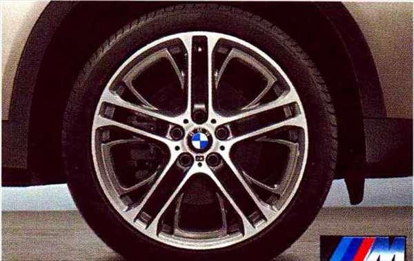 X3 パーツ Mダブルスポーク・スタイリング310 ホイール単体 10J×20(リヤ) BMW純正部品 WX20 WY20 WX35 オプション アクセサリー 用品 純正 送料無料