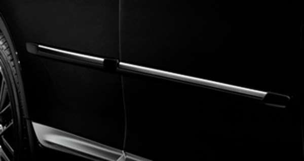 『クラウンアスリート』 純正 AWS210 サイドプロテクションモール パーツ トヨタ純正部品 crown オプション アクセサリー 用品