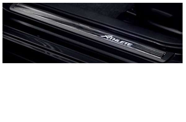 『クラウンアスリート』 純正 AWS210 スカッフイルミネーション パーツ トヨタ純正部品 ステップ 保護 プレート crown オプション アクセサリー 用品