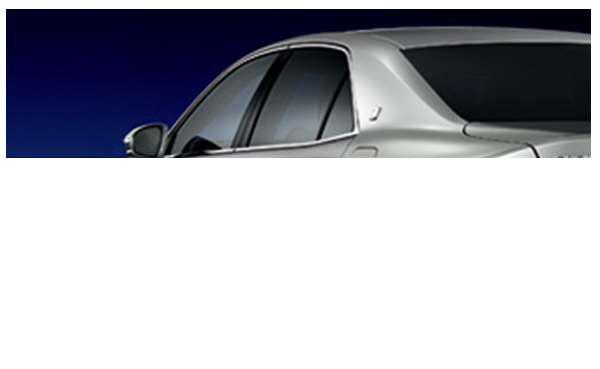『クラウンアスリート』 純正 AWS210 IR(赤外線)カットフィルム リヤサイド パーツ トヨタ純正部品 日除け カーフィルム crown オプション アクセサリー 用品