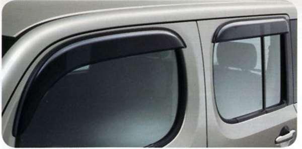 『キューブ』 純正 Z12 NZ12 プラスチックバイザー G5HH0 パーツ 日産純正部品 ドアバイザー サイドバイザー CUBE オプション アクセサリー 用品