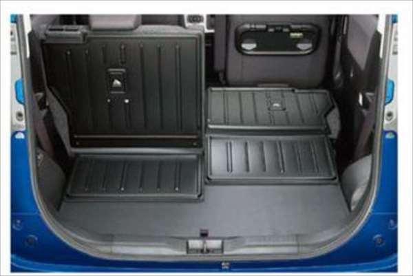『ソリオハイブリッド』 純正 MA46S MA36S ラゲッジマット(シート背裏あり) パーツ スズキ純正部品 ラゲージマット 荷室マット 滑り止め オプション アクセサリー 用品