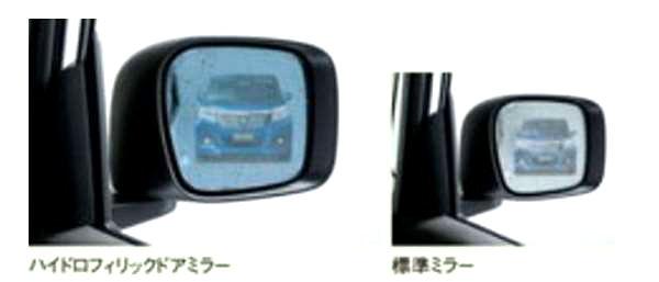 『ソリオハイブリッド』 純正 MA46S MA36S ハイドロフィリックドアミラー パーツ スズキ純正部品 オプション アクセサリー 用品