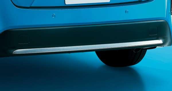プリウスPHV 数量は多 純正 ZVW52 リヤバンパーガーニッシュ 定番の人気シリーズPOINT ポイント 入荷 メッキ パーツ トヨタ純正部品 エアロパーツ パネル オプション アクセサリー 用品 カスタム
