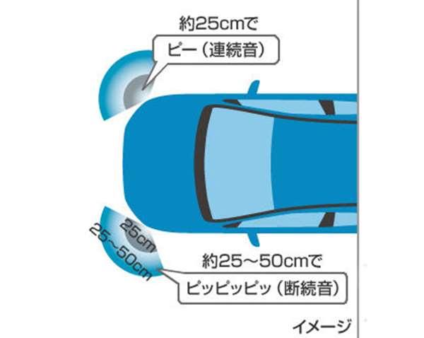 『プリウスPHV』 純正 ZVW52 コーナーセンサー(フロント左右)用のブザーキットのみ ※センサーキットは別売 パーツ トヨタ純正部品 危険通知 接触防止 障害物 オプション アクセサリー 用品