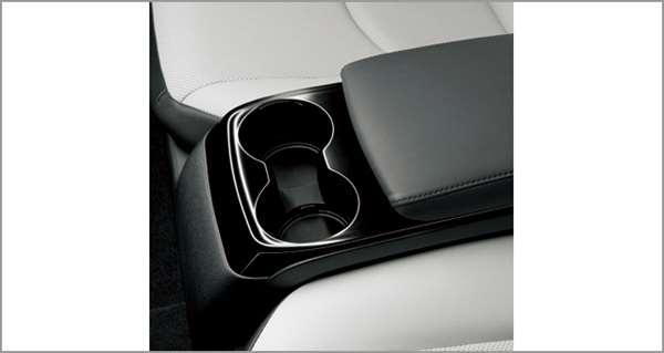 『プリウスPHV』 純正 ZVW52 センターコンソールトレイ(ブラック・リヤ) パーツ トヨタ純正部品 小物入れ 収納 オプション アクセサリー 用品
