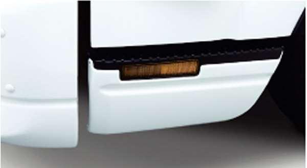 『エルフ』 純正 FR6AA FR6AAS~ サイドステップスカートセット (ホワイト) パーツ いすゞ純正部品 オプション アクセサリー 用品