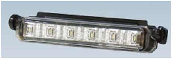 『エルフ』 純正 FR6AA FR6AAS~ LEDデイタイムランプ(タイプ5x)白・青色 本体のみ ※ハーネスは別売 パーツ いすゞ純正部品 オプション アクセサリー 用品