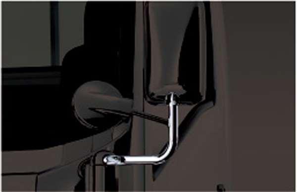 『エルフ』 純正 FR6AA FR6AAS~ メッキミラーステー 電動格納式ミラーステー左 パーツ いすゞ純正部品 オプション アクセサリー 用品
