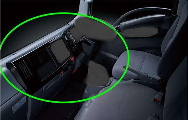 『エルフ』 純正 FR6AA FR6AAS~ インテリアパネルセット (ピアノブラック) 標準キャブ パーツ いすゞ純正部品 内装パネル オプション アクセサリー 用品