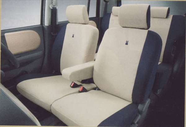 『ラパン』 純正 HE22S シートカバー マイルドリッチ(サイドエアバッグ無車用) パーツ スズキ純正部品 座席カバー 汚れ シート保護 lapin オプション アクセサリー 用品