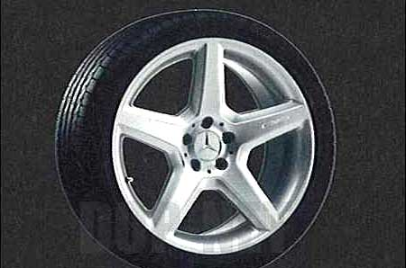 SLクラス AMGスタイルのリア用の9.5J×19ET31 285 / 30 R19 ベンツ純正部品 SLクラス パーツ r230 パーツ 純正 ベンツ ベンツ純正 ベンツ 部品 オプション 送料無料