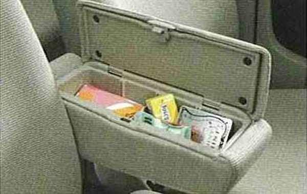 『ekワゴン』 純正 H82W アームレストボックス パーツ 三菱純正部品 オプション アクセサリー 用品