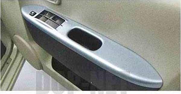 『ekワゴン』 純正 H82W ドアスイッチパネル ブルーメタリック スライドドア車用 パーツ 三菱純正部品 内装ベゼル パワーウィンドウパネル オプション アクセサリー 用品
