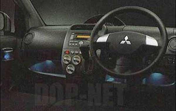 『ekワゴン』 純正 H82W カップホルダー&アンダートレイイルミネーション パーツ 三菱純正部品 照明 オプション アクセサリー 用品