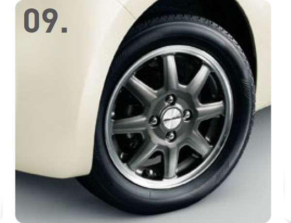 『N-ONE』 純正 JG1 JG2 14インチアルミホイール MS-024(ブラックパール塗装) ※1本につき パーツ ホンダ純正部品 安心の純正品 オプション アクセサリー 用品