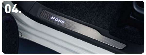 『N-ONE』 純正 JG1 JG2 サイドステップガーニッシュ パーツ ホンダ純正部品 オプション アクセサリー 用品