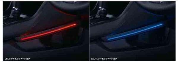 『シビック』 純正 FK7 FC1 センターコンソールイルミネーション パーツ ホンダ純正部品 照明 明かり ライト オプション アクセサリー 用品