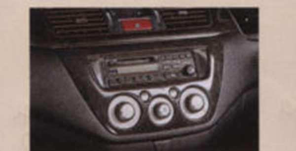 『ランサーワゴン』 純正 CS5W アクセントパネル(黒木目調) パーツ 三菱純正部品 インテリアパネル 内装パネル LANCER オプション アクセサリー 用品