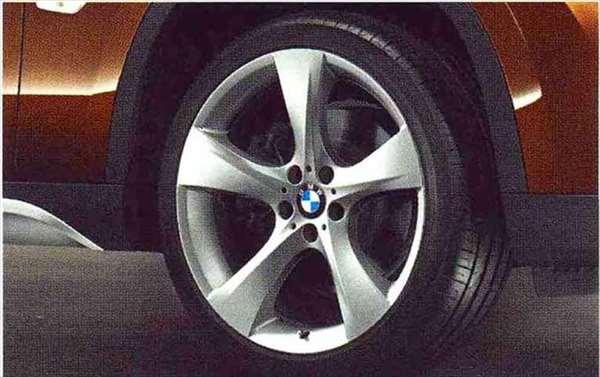 X1 パーツ スタースポーク・スタイリング311のホイール単体 9J×19(リヤ) BMW純正部品 VL25 VM20 オプション アクセサリー 用品 純正 送料無料