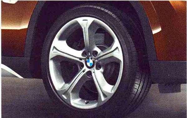 X1 パーツ スタースポーク・スタイリング320のホイール単体 8J×18(フロント/リヤ) BMW純正部品 VL25 VM20 オプション アクセサリー 用品 純正 送料無料
