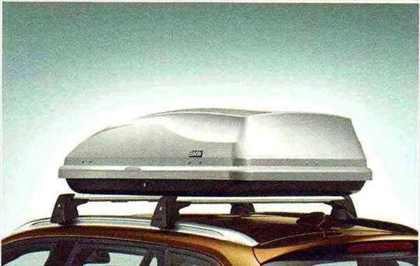 "X1 パーツ ルーフ・ボックス""350"" BMW純正部品 VL25 VM20 オプション アクセサリー 用品 純正 送料無料"