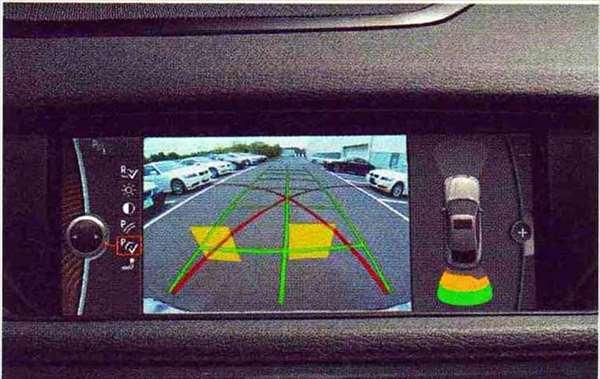X1 パーツ リヤ・ビュー・カメラ 後付けキット(PDC装備車用) BMW純正部品 VL25 VM20 オプション アクセサリー 用品 純正 送料無料