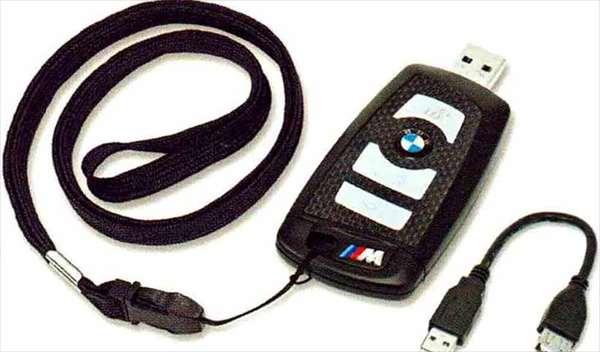 "X1 パーツ BMW リモート・コントロール・キー型""M"" USBメモリー・スティック 8GB BMW純正部品 VL25 VM20 オプション アクセサリー 用品 純正"