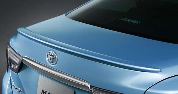 『マークX』 純正 GRX133 GRX130 GRX135 リヤスポイラー パーツ トヨタ純正部品 オプション アクセサリー 用品