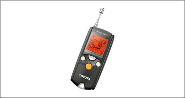『マークX』 純正 GRX133 GRX130 GRX135 リモートスタート(液晶画面タイプ)本体のみ ※(取付キット)は別売 パーツ トヨタ純正部品 ワイヤレス エンジンスターター 無線 オプション アクセサリー 用品