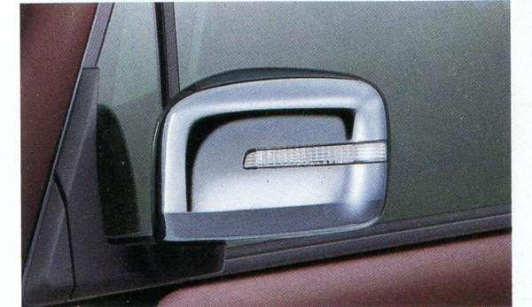 『モコ』 純正 MG33S クロームドアミラーカバー パーツ 日産純正部品 サイドミラーカバー カスタム MOCO オプション アクセサリー 用品
