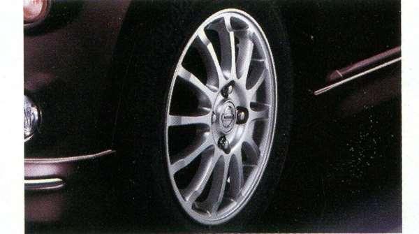 『モコ』 純正 MG33S エスティーロアルミホイール 13×4.00B、インセット45 1台分 パーツ 日産純正部品 安心の純正品 MOCO オプション アクセサリー 用品