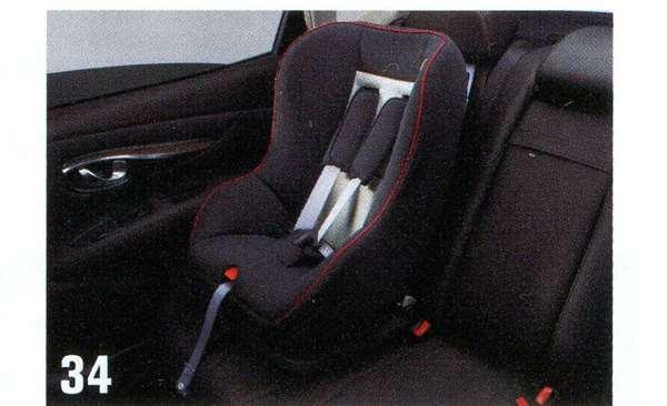 『モコ』 純正 MG33S ISO FIX対応チャイルドセーフティシート(インナークッション無) パーツ 日産純正部品 MOCO オプション アクセサリー 用品